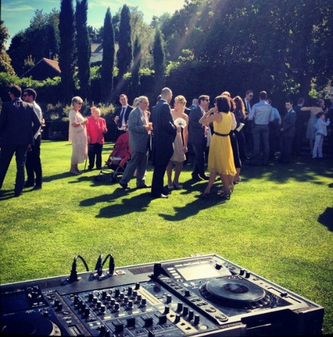 Outdoor Wedding Music Service